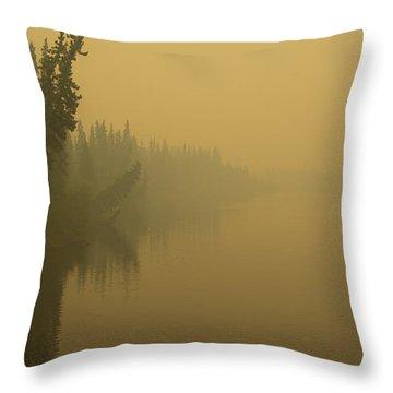 Chena River Throw Pillow