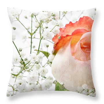 Cherish Throw Pillow