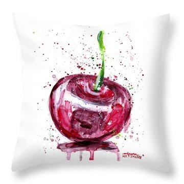 Cherry 1 Throw Pillow