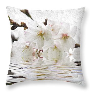 Fruit Trees Throw Pillows