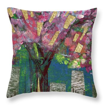 Cherry Blossom Too Throw Pillow