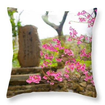Cherry Blossoms 11 Throw Pillow