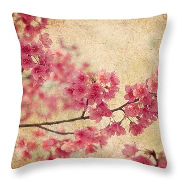 Cherries Throw Pillows