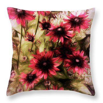 Cherry Brandy Throw Pillow