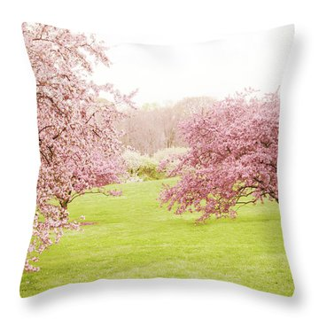 Throw Pillow featuring the photograph Cherry Confection by Jessica Jenney