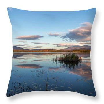 Cherry Pond Wild Magic Pano Throw Pillow