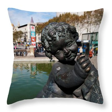 Cherub Throw Pillow