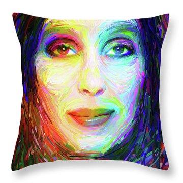 Cheryl Sarkisian Throw Pillow