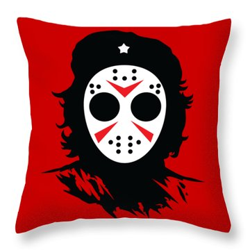 Che's Halloween Throw Pillow