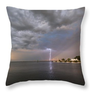 Chesapeake Bay Rainbow Lighting Throw Pillow