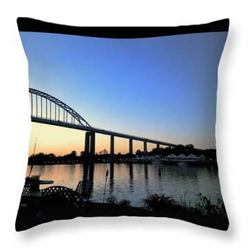 Chesapeake City Throw Pillow