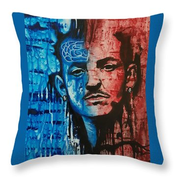 Heavy Thoughts Throw Pillow