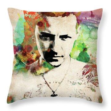 Chester Bennington Throw Pillow