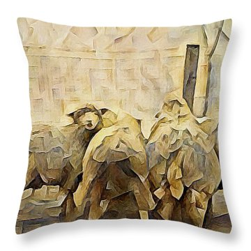 Chester County Sheep Throw Pillow