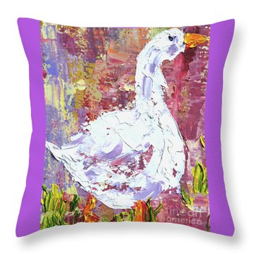 Chester - Cropped Throw Pillow by Lynda Cookson