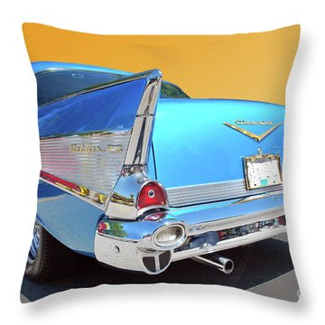 Chev Bel Air 2 Throw Pillow