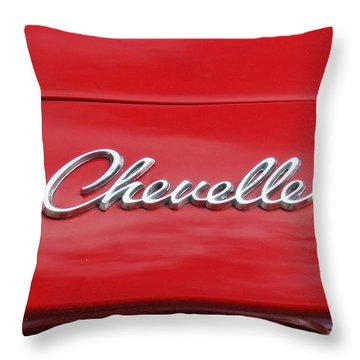 Chevelle Throw Pillow