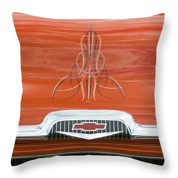 Chevrolet 30-1956 Hydramatic 3100 Throw Pillow