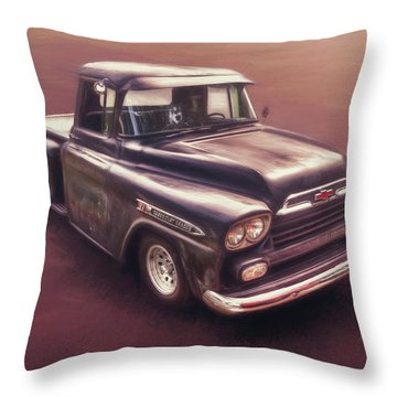 Chevrolet Apache Pickup Throw Pillow