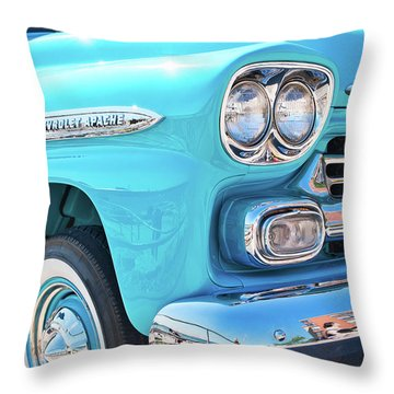 Chevrolet Apache Truck Throw Pillow