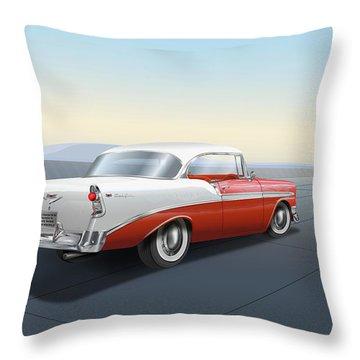 Chevrolet Bel Air Throw Pillow