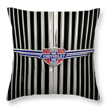 Chevrolet Throw Pillow by Caitlyn Grasso
