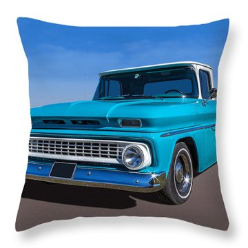 Throw Pillow featuring the photograph Chevrolet Pickup by Keith Hawley