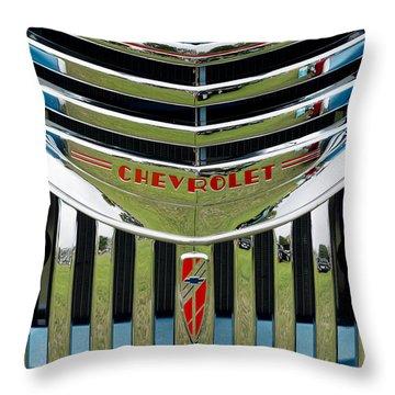Chevrolet Smile Throw Pillow