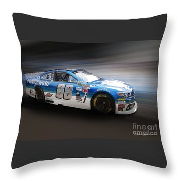 Chevrolet Ss Nascar Throw Pillow