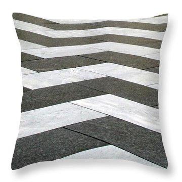 Chevron  Throw Pillow by Linda Woods