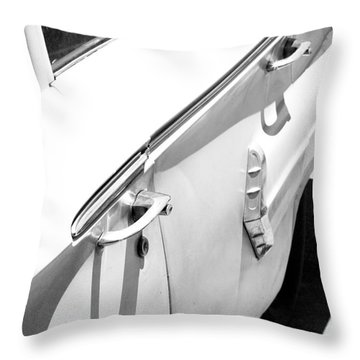 Chevy Biscayne Throw Pillow by Amanda Barcon