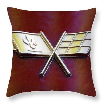Chevy Corvette Throw Pillow