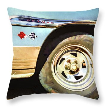 Chevy Deluxe Throw Pillow