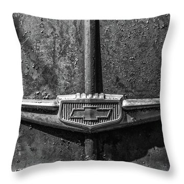 Chevy Emblem-4240 Throw Pillow