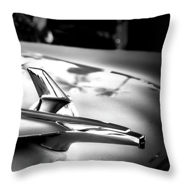 Chevy Noir Throw Pillow