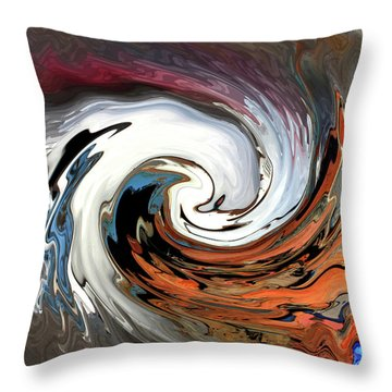 Throw Pillow featuring the photograph Chevy On The Rez by Wayne King