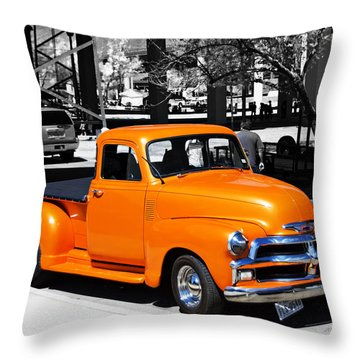 Chevy Pick Up  Throw Pillow