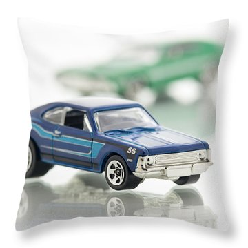 Chevy Ss Throw Pillow