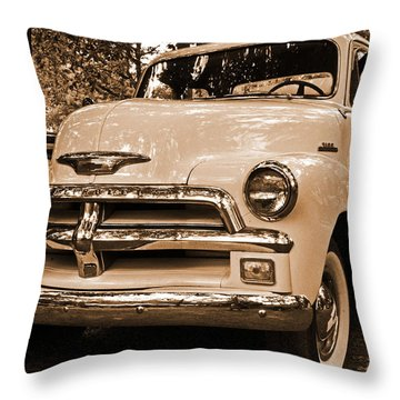 Chevy Truck Throw Pillow