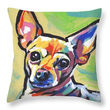 Chi Chi Cha Throw Pillow