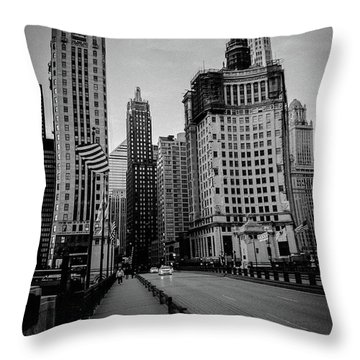 Chi Strolling Throw Pillow