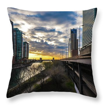 Chi Sunrise 2 Throw Pillow