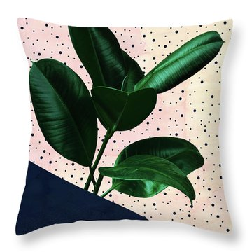 Chic Jungle Throw Pillow