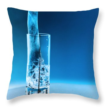 Chicago Bar Throw Pillow by Amanda Barcon