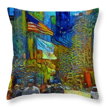 Chicago Colors 2 Throw Pillow