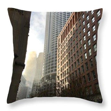 Chicago Light 2 Throw Pillow