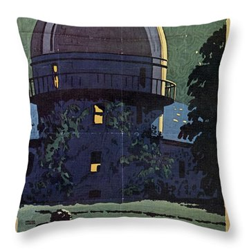 Chicago Poster, 1925 Throw Pillow