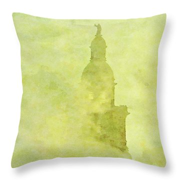 Chicago Steeple Throw Pillow