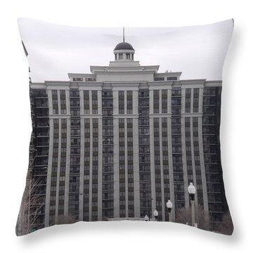 Chicago Street IIi Throw Pillow by Anna Villarreal Garbis