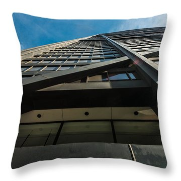Chicago Structure Throw Pillow